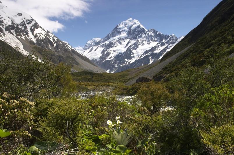Hooker Valley, Aoraki/Mt Cook, Canterbury, South Island