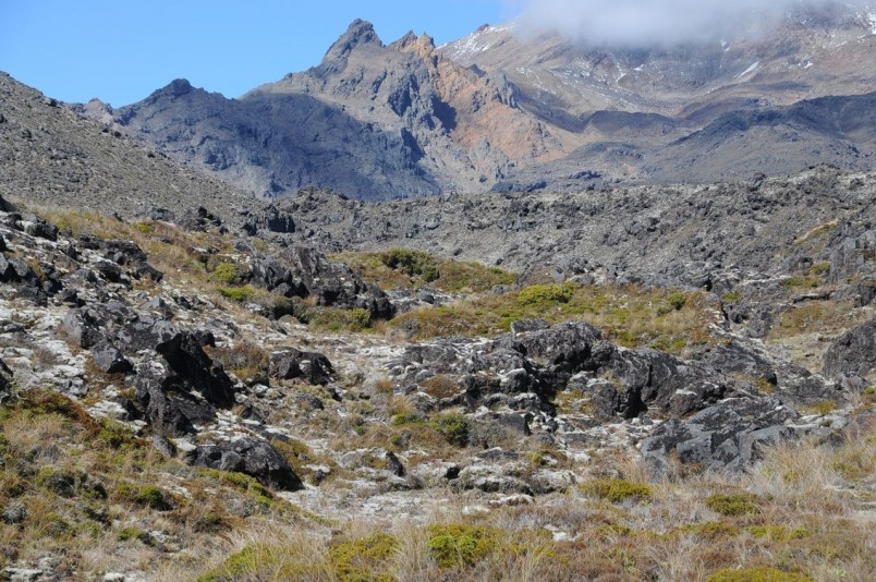 Mt Ruapehu (summer), Central Plateau, North Island