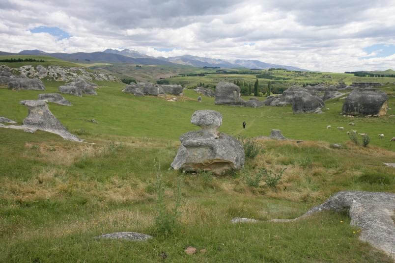 Elephant Rocks near Duntroon, Otago, South Island
