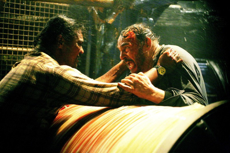 John Rhys-Davies and Lawrence Makoare in TheFerryman