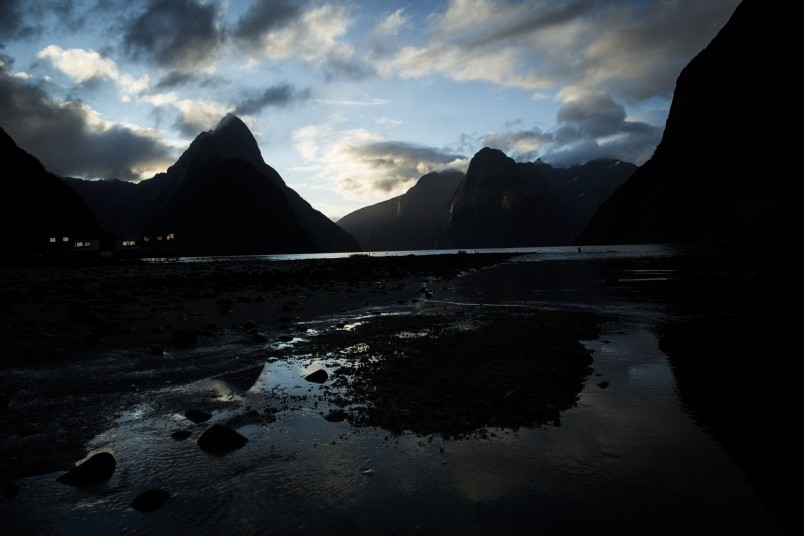Milford Sound as seen in Alien: Covenant