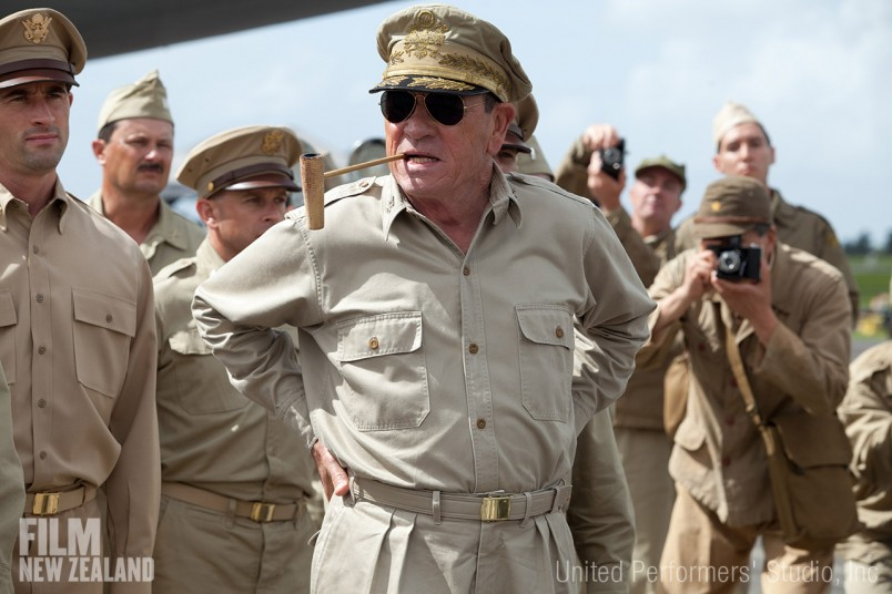 Tommy Lee Jones as General Douglas MacArthur