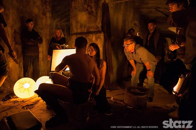Michael Hurst directs Liam McIntyre and Katrina Law
