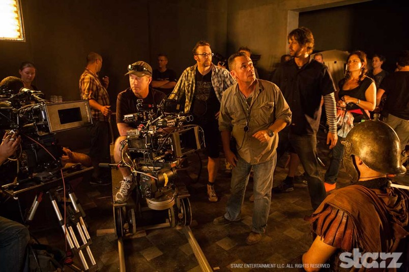 DOP John Cavill fine-tuning the light