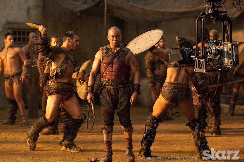 Temuera Morrison commands the Ludus