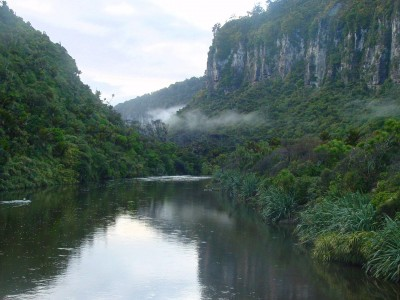 Porarari River near Punakaiki, West Coast, South Island