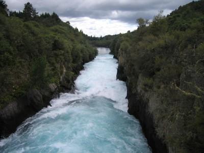 Huka Falls, Taupo, North Island