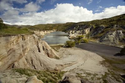 Blue Lake, Saint Bathans, Otago, South Island