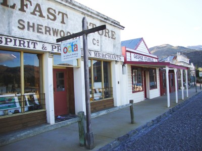 Old Cromwell Town, Otago, South Island