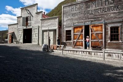 Mellonsfolly Ranch Old West Town, Manawatu-Wanganui, North Island