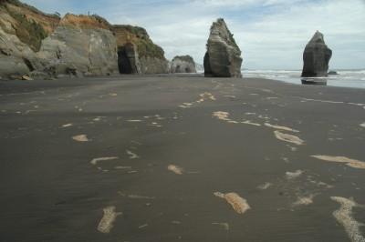 Three Sisters & Elephant Rock, Taranaki, North Island