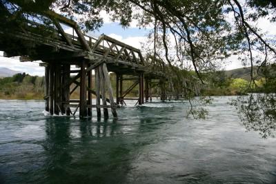 Kurow Bridge, Waitaki River, Otago, South Island