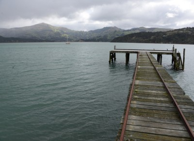 Robinsons Bay Wharf, Banks Peninsula