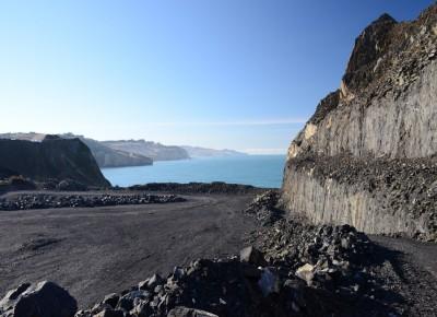 Blackhead Quarry, Dunedin